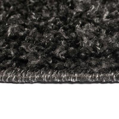 vidaXL Covor cu fir lung, 140 x 200 cm, antracit , Antracit