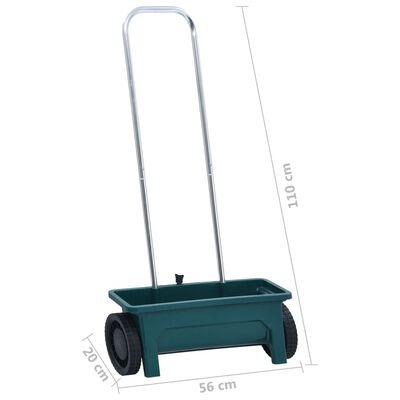 vidaXL Dispozitiv de împrăștiere pentru grădină, aluminiu, 12 L