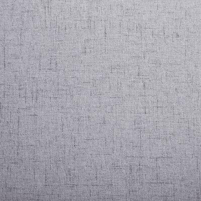 vidaXL Fotoliu, gri deschis, material textil