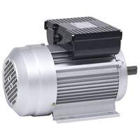 vidaXL Motor electric monofazat aluminiu 1,5kW / 2CP 2 poli 2800 RPM