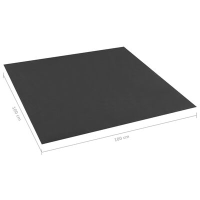Căptușeala  de nisip , negru ,100x100 cm