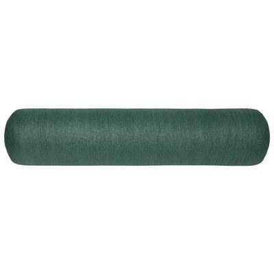 vidaXL Plasă protecție intimitate, verde, 1x50 m, HDPE, 150 g/m²