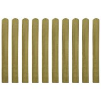vidaXL Șipci de gard din lemn tratat, 30 buc., 100 cm
