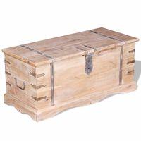 vidaXL Cufăr din lemn de acacia