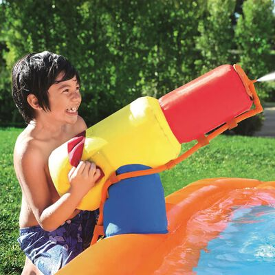 Bestway Tobogan acvatic H2OGO Turbo Splash Water Zone-Mega, 53301