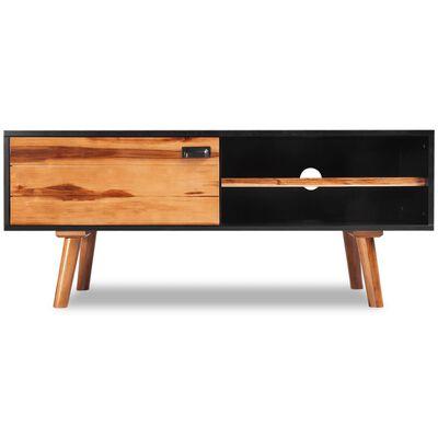 vidaXL Comodă TV din lemn dur de salcâm, 120 x 35 x 50 cm