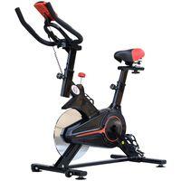 Bicicleta Pentru Antrenament Aerobica Cu Display Lcd, Negru Si Rosu