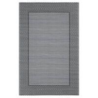 vidaXL Covor de exterior, gri, 120x180 cm, PP