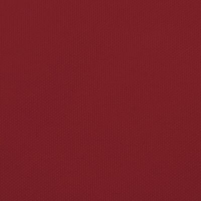 vidaXL Parasolar, roșu, 5x8 m, țesătură oxford, dreptunghiular