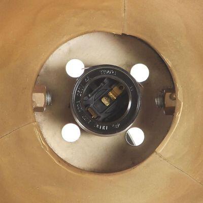 vidaXL Lampă de perete industrială, arămiu, 65 x 25 cm, E27