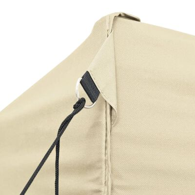 42507 vidaXL Foldable Tent Pop-Up 3x6 m Cream White