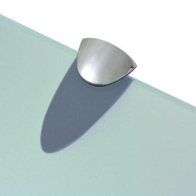 vidaXL Raft suspendat din sticlă, 30 x 20 cm, 8 mm