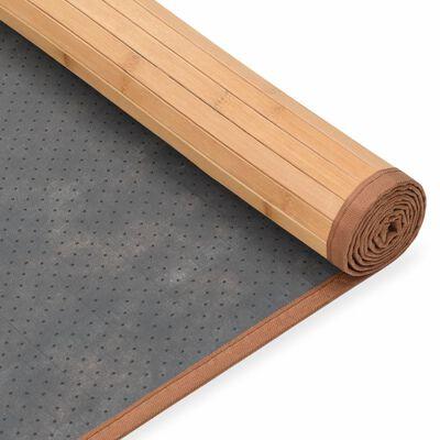 vidaXL Covor din bambus, maro, 150 x 200 cm