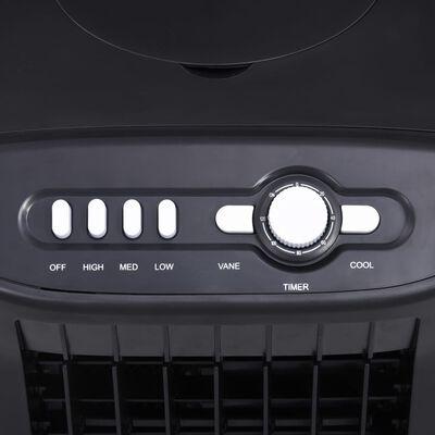 vidaXL Răcitor, umidificator, purificator de aer mobil 3-în-1, 65 W