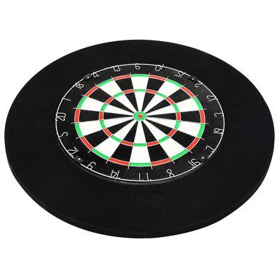 vidaXL Bordură țintă darts profesională, EVA,