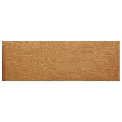 vidaXL Masă de toaletă, 118 x 40 x 77 cm, lemn masiv de stejar