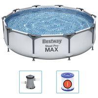 Bestway Set de piscină Steel Pro MAX, 305 x 76 cm