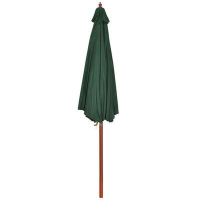 Parasolar verde 258 cm