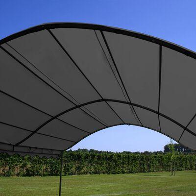 vidaXL Copertină de soare, antracit, 3 x 4 m