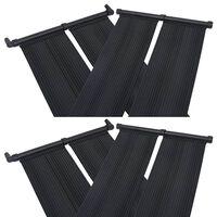 vidaXL Panou încălzitor solar pentru piscină, 4 buc., 80x310 cm