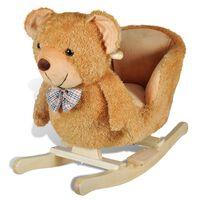 vidaXL Balansoar în formă de animal, ursuleț