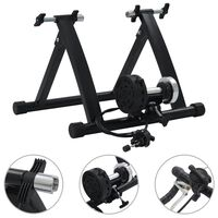 """vidaXL Suport de bicicletă pentru antrenament, negru,  26""""-28""""cm, oțel"""
