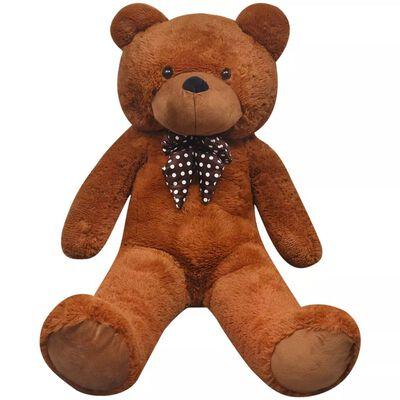 vidaXL Ursuleț de pluș moale de jucărie XXL, maro, 85 cm