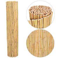 vidaXL Gard din bambus, 300 x 130 cm