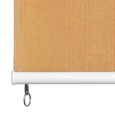 vidaXL Jaluzea tip rulou de exterior, 240 x 230 cm, bej