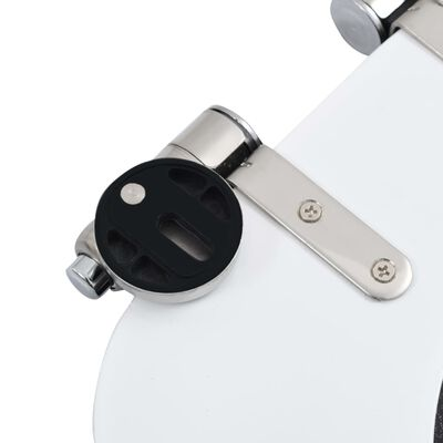vidaXL Capac WC cu închidere silențioasă, MDF, design picătură de apă