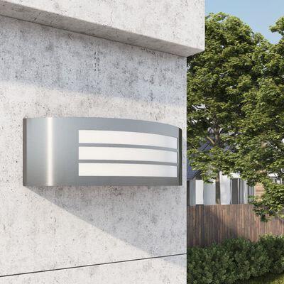 vidaXL Corp de iluminat de exterior de perete, oțel inoxidabil