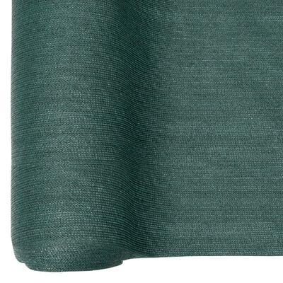 vidaXL Plasă protecție intimitate, verde, 1,2x50 m, HDPE, 195 g/m²