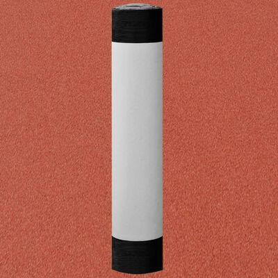 vidaXL Membrană bituminoasă pâslă acoperiș V60 S4, 1 rolă, roșu, 2,5 ㎡