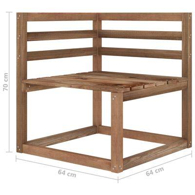vidaXL Set mobilier de grădină, 10 piese, cu perne roșii
