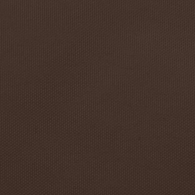 vidaXL Parasolar, maro, 4x4x5,8 m, țesătură oxford, triunghiular