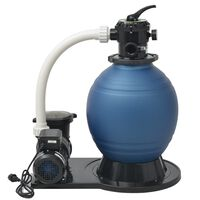 vidaXL Pompă filtru cu nisip, 1000 W, 16800 l/h, XL