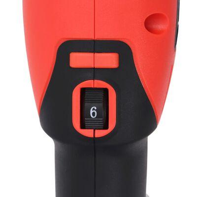vidaXL Polizor excentric cu accesorii, acțiune duală, 21 cm, 1000 W