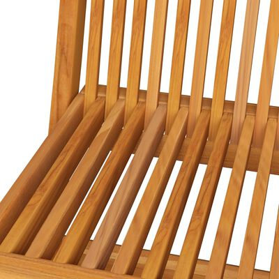 vidaXL Scaune de grădină cu perne bej, 8 buc., lemn masiv de tec
