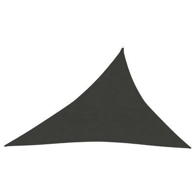 vidaXL Pânză parasolar , antracit , 3x4x5 m, HDPE ,160 g / m²