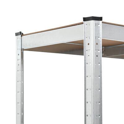 vidaXL Rafturi de depozitare, 2 buc, 90 x 40 x 180 cm, MDF
