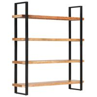 vidaXL Bibliotecă cu 4 rafturi, 160 x 40 x 180 cm, lemn masiv acacia