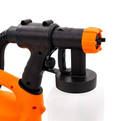 vidaXL Pistol de vopsit electric cu furtun de aer, 500 W, 800 ml