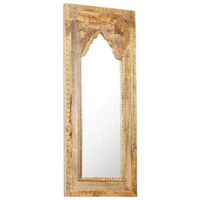 vidaXL Oglindă, 50x3x110 cm, lemn masiv de mango