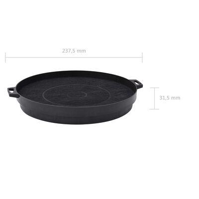 Filtre cu cărbune pentru hotă de bucătărie, 2 buc., 210 mm