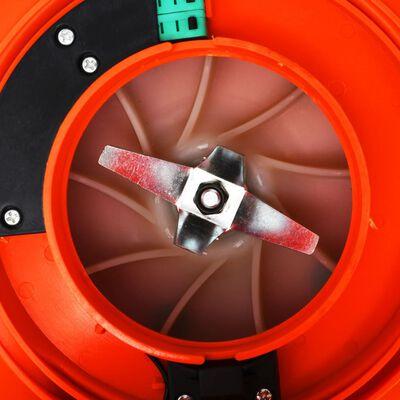 vidaXL Suflantă de frunze 3-în-1 cu benzină 26 cc portocaliu,