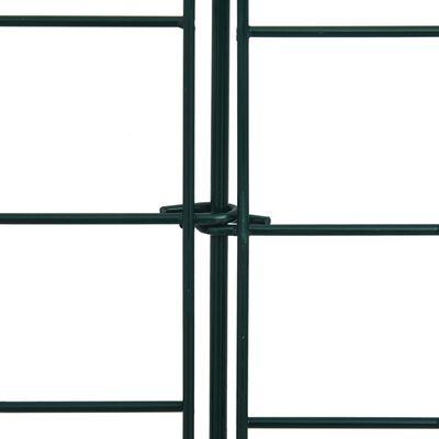 vidaXL Set gard de iaz arcuit, verde, 77,5 x 78,5 cm