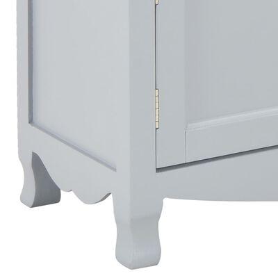 vidaXL Comodă TV, gri, 120 x 30 x 40 cm, lemn