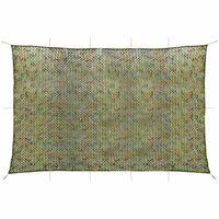 vidaXL Plasă de camuflaj cu geantă de depozitare 4x6 m