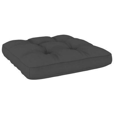 vidaXL Perne de canapea din paleți, 2 buc., antracit