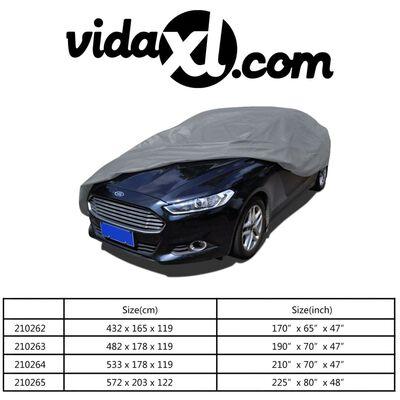 vidaXL Prelată auto, material textil nețesut, XXL